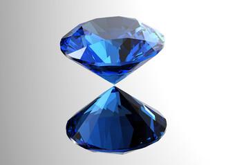 3D diamonds render. Jewelry gemstone