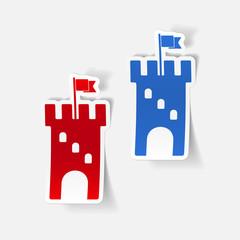 realistic design element: fortress