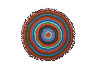 knitted mat
