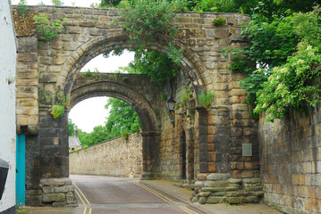 old Cowgarth or gate at Hexham, Northumberland