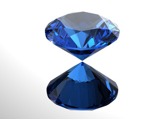 3D diamonds render. Jewelry gemstone