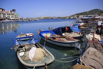 port de pêche à Foça