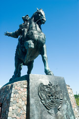 monument to Elisabeth Petrovna, Baltysk, Russia