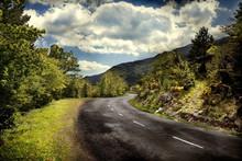 """Постер, картина, фотообои """"Carretera de montaña"""""""