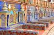 Leinwanddruck Bild - Seville, Spain