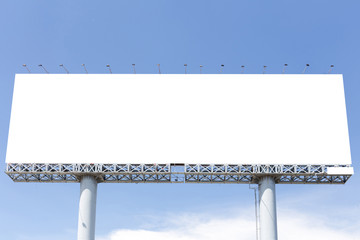 Blank billboard useful for your advertisement
