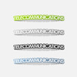 realistic design element: telecommunications