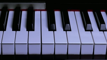 Shadow Movement on Piano