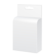 White Product Package Box Illustration