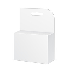 White Product Package Box Illustration Isolated