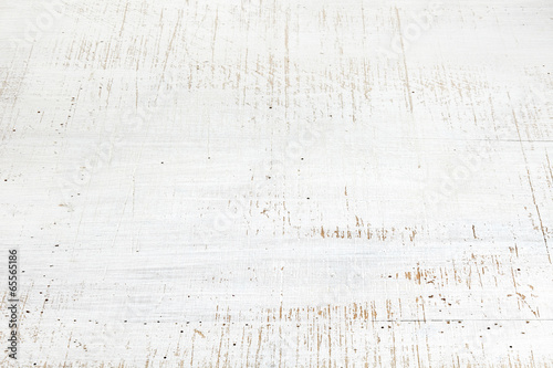 Tuinposter Hout old white wooden background
