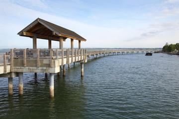 Boulevard Park Pier, Bellingham