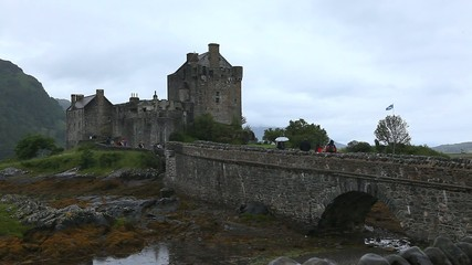 The Beautiful Eileen Donan Castle in Scotland
