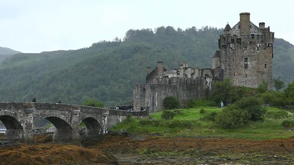 Beautiful Eileen Donan Castle in Scotland