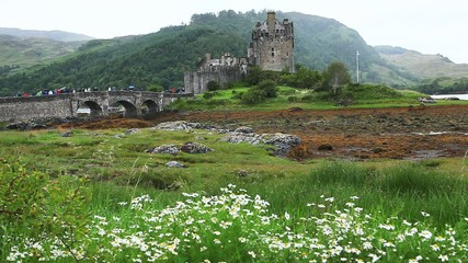 Eileen Donan Castle in Scotland