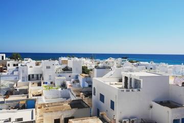 View from Medina on old city Hammamet, Tunisia