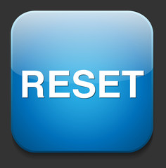 computer reset button illustration