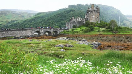 Eileen Donan Castle, one of the most beautiful in Scotland