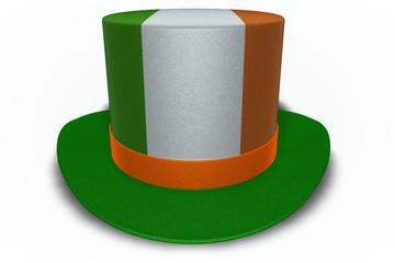 Ireland Flag Top Hat
