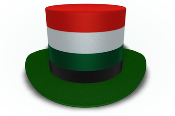 Hungary Flag Top Hat