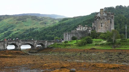 Eileen Donan Castle, beautiful castle in Great Britain.