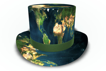 Earth Top Hat