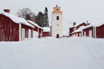 Church town of Gammelstad, Sweden