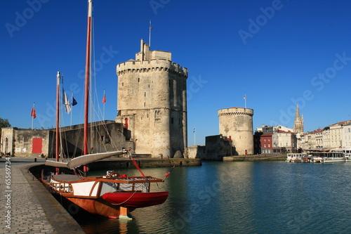 Papiers peints Fortification Vieux port de La Rochelle