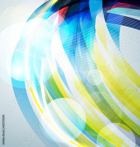 Deurstickers Geometrische dieren abstract