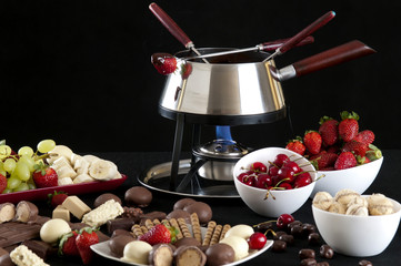 Fondue Melted Chocolate Dip