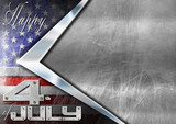 Happy 4th of July Independence Day - 65574711