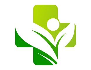 icon symbol logo medicine health nature plants vectors