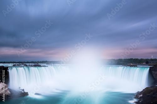 Horseshoe Falls at Niagara Falls Photo by mandritoiu