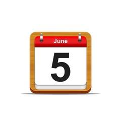 5 de Junio.