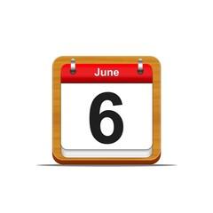 6 de Junio.