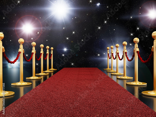 Red carpet night