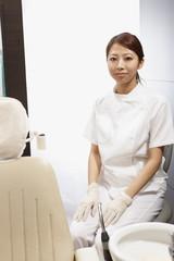 女性の歯科医師
