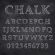 Vector Chalky font