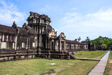 The ancient temple of Angkor Wat near Siem Reap, Cambodia.