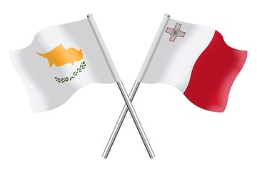 Flags : Cyprus and Malta