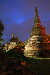 Ayutthaya -old capital of Thailand.
