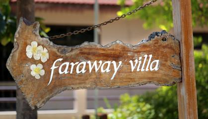 faraway villa