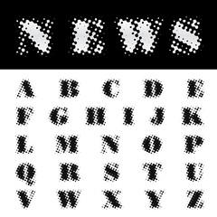 news alphabet