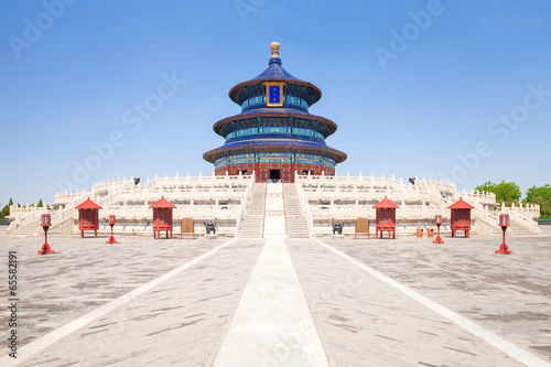 Foto op Aluminium Beijing Temple of Heaven in Beijing