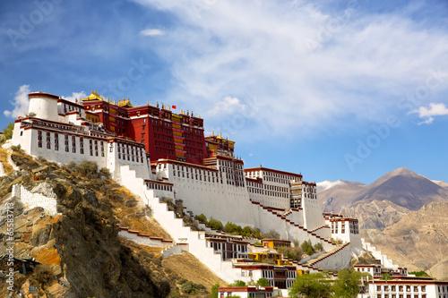 Potala palace in Lhasa, Tibet - 65583713