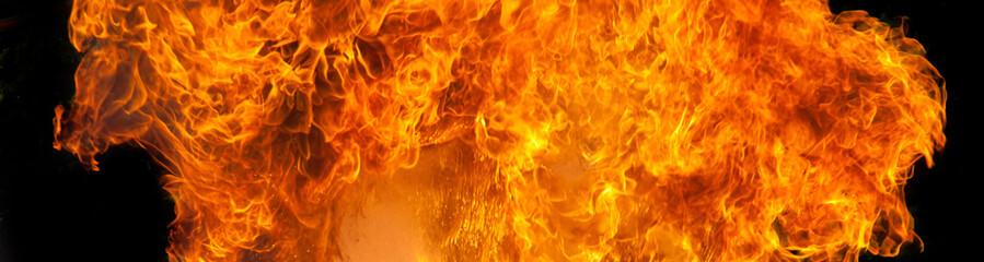 Flammen Hintergrund