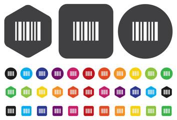 Barcode symbol vector