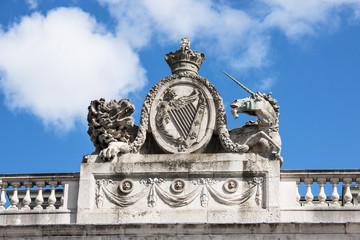 The Custom House in Dublin