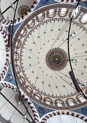 Mosque Ceiling, Istanbul