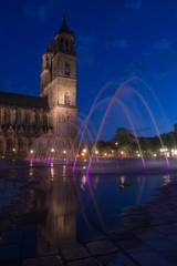 Magdeburg Domplatz bei Nacht 2